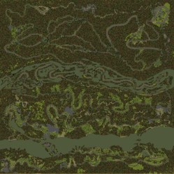 Map - Blackwater Canyon