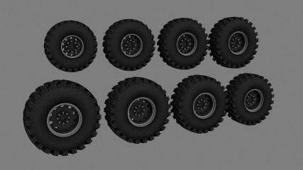 Tattoo's Ground Hawg Wheels Pack