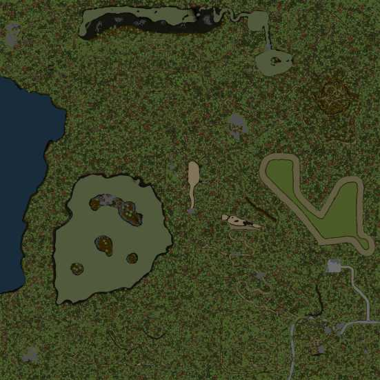 Level - Swampoodle Map