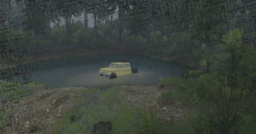 Lost in WA - Chevy K30 - Spintires