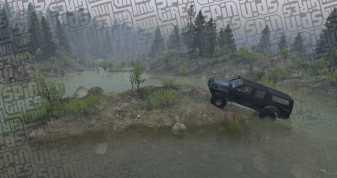 Goat Trails - Spintires - Nissan Navara D22 - Smed