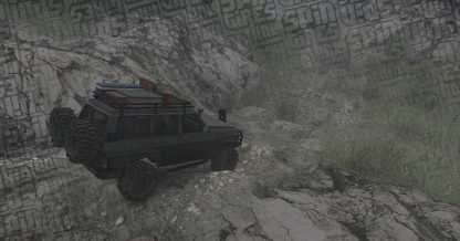 Diablo Trails by Smed w/ Nissan GQ Patrol