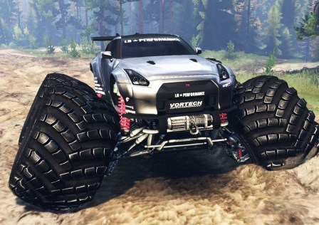 Nissan GT-R R35 Spintires1
