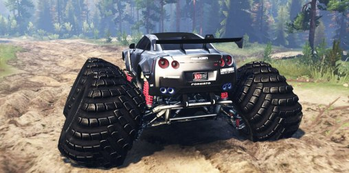 Nissan GT-R R35 Spintires2