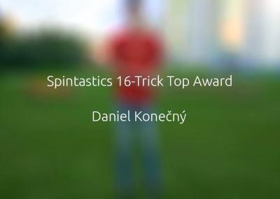 Spintastics 16-Trick Top Award – Daniel Konečný