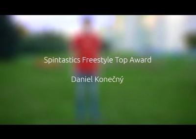 Spintastics freestyle video application by D. Konečný