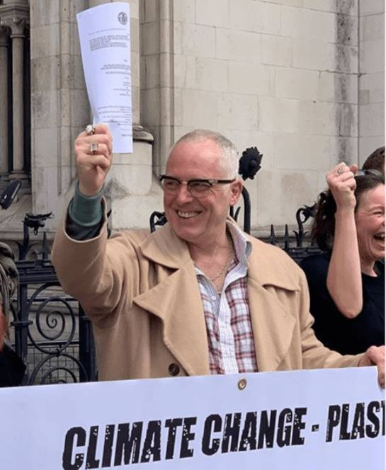 Joe Corre at the Court of Appeal, April 2019