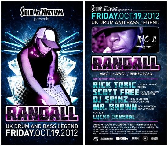 Randall Oct 19 - Toronto