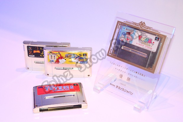 Gold Cartridges Full Set