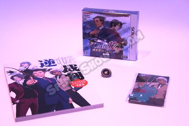 Phoenix Wright Naruhodo Selection 123 Limited Edition