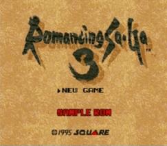 Romancing SaGa 3 Sample ROM 02