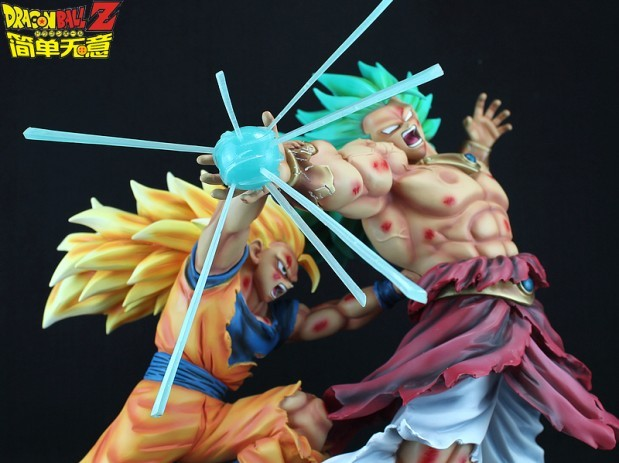 Goku Super Saiyajin 3 Vs Broly Super Saiyajin 3