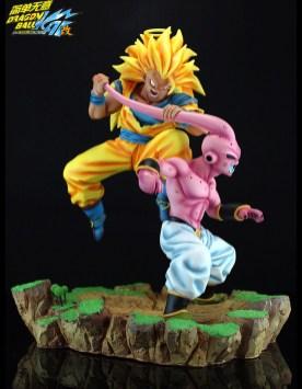 Son Goku Super Saiyajin 3 vs Buu