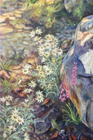 "ZG Rona Walker ""Patch of Bush"" 50 x 76 cm"