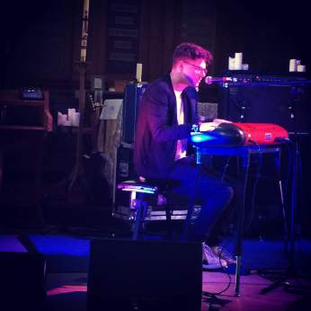 Kevin Garrett performing at The Great Escape