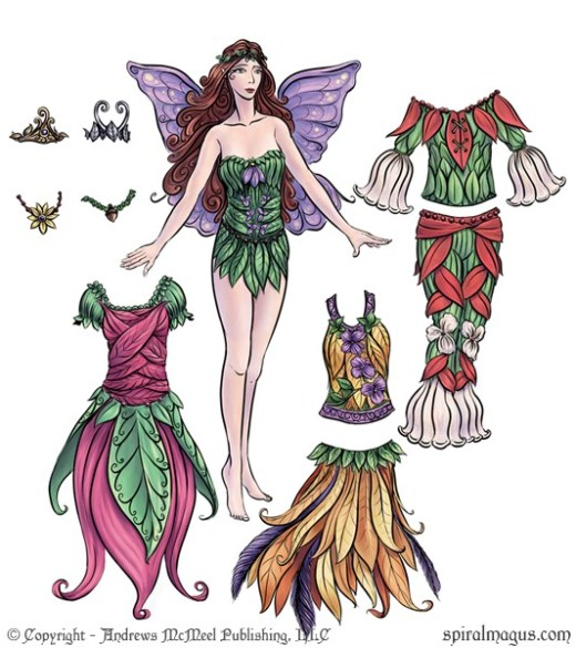 Fairy Fancies Paperdoll