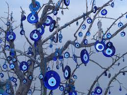 Islamic Nazar amulets inspired the main logo