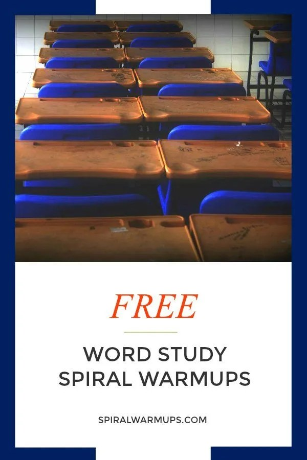 Word study warm-ups that engage, strengthen, and build powerful readers and writers!