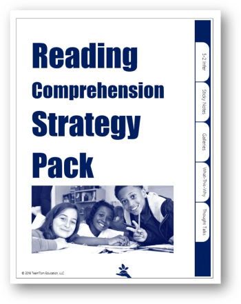 Free Reading Comprehension Strategy Pack (August 2018)