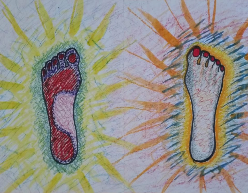 Körperbild Füße