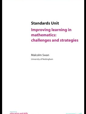 Improving Learning in Mathematics: Challenges and Strategies