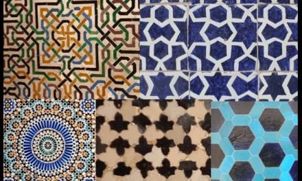 Islamic geometric designs