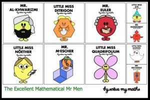 Maths Mr Men