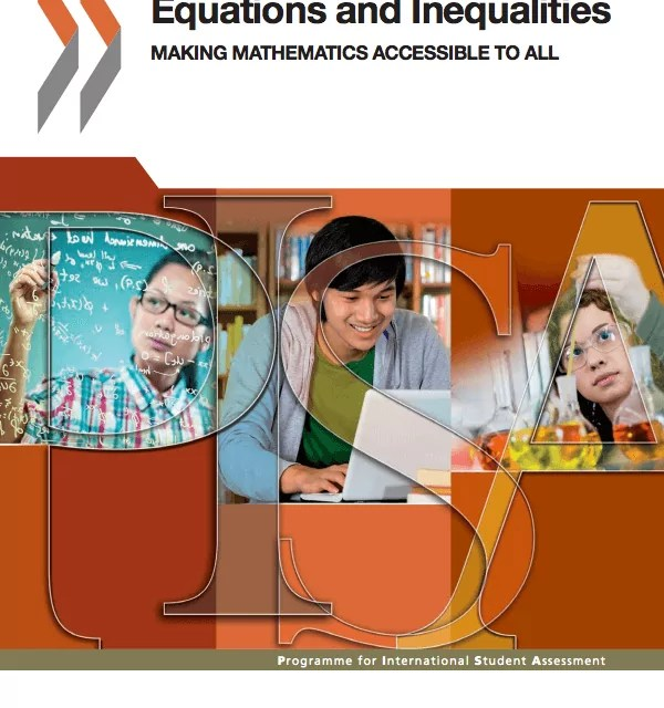 PISA: Equations and Inequalities