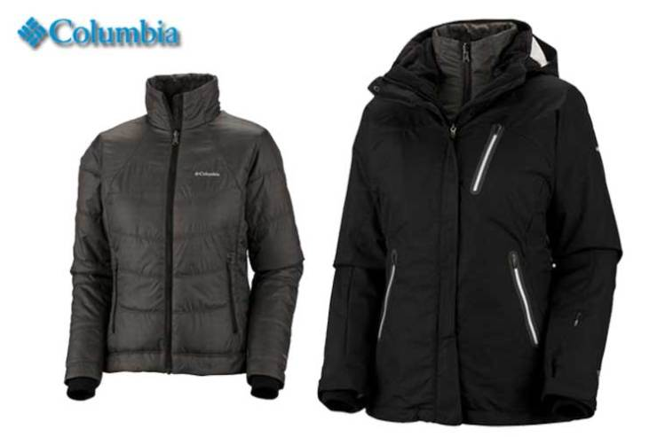 Columbia Sportswear W's Paccaly Pass 3-i-1 Titanium Parka (EL7691)