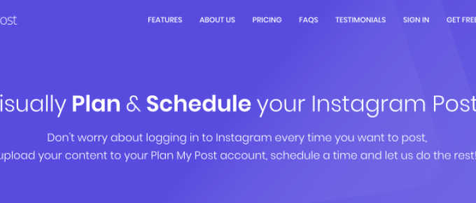 Plan My Post Review – Schedule Instagram posts from your PC