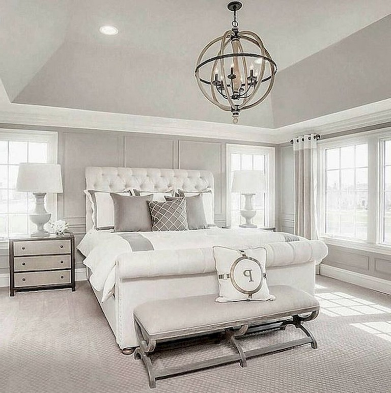 50+ Comfy Gorgeous Master Bedroom Design Ideas - Page 24 of 52 on Comfy Bedroom  id=95569