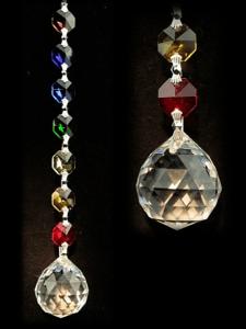 Cristal pour fenêtres Feng-Shui Unité