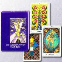Le Tarot Thot par Aleister Crowley - DE LUXE