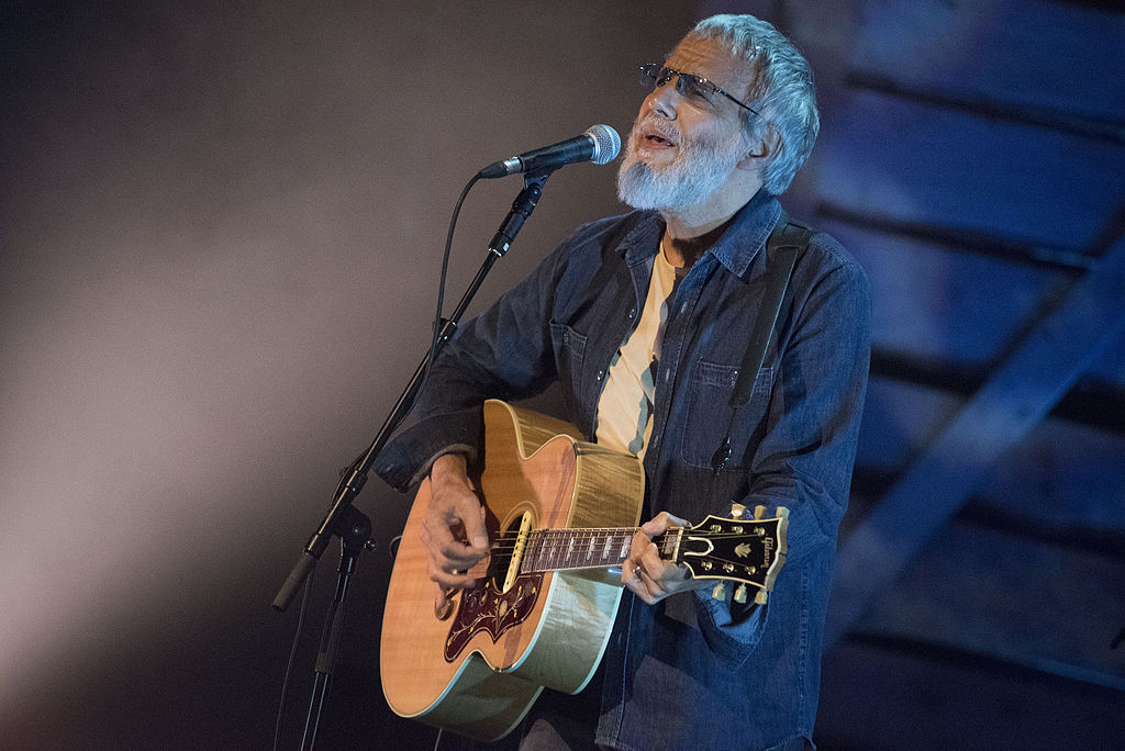 Yusuf Cat Stevens performing at BBC Radio 2 Folk Awards, Cardiff, April 2015