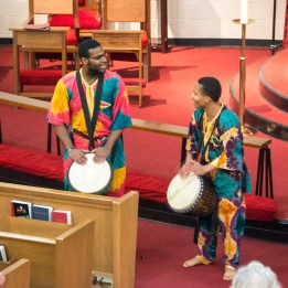 Photograph of the Absalom Jones Celebration held at St. Augustine's Episcopal Church, Kansas City, on February 13, 2017. Image credit: Gary Zumwalt