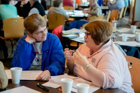 Evangelism workshop led by Carrie Boren Headington, Episcopal Diocese of Dallas. Grace and Holy Trinity Cathedral. February 18, 2017 Image credit: Gary Zumwalt