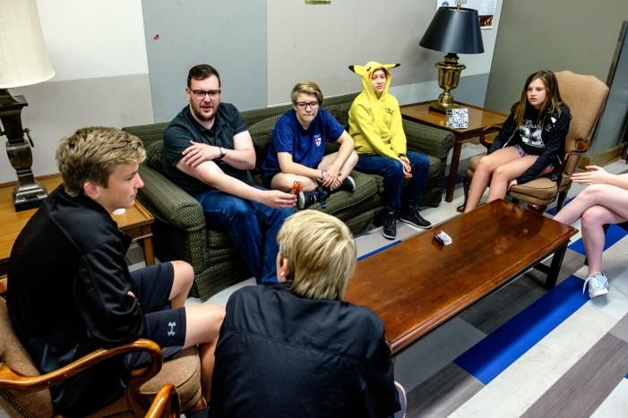 Youth Interviews at St. Paul's Episcopal Church, Kansas City. Image credit: Gary Allman