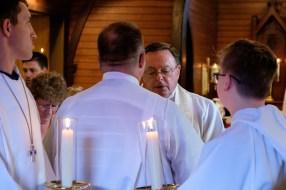 Gospel Reading. Luke 4:16-21 Read by Fr. Jerry Miller. Image credit: Gary Allman