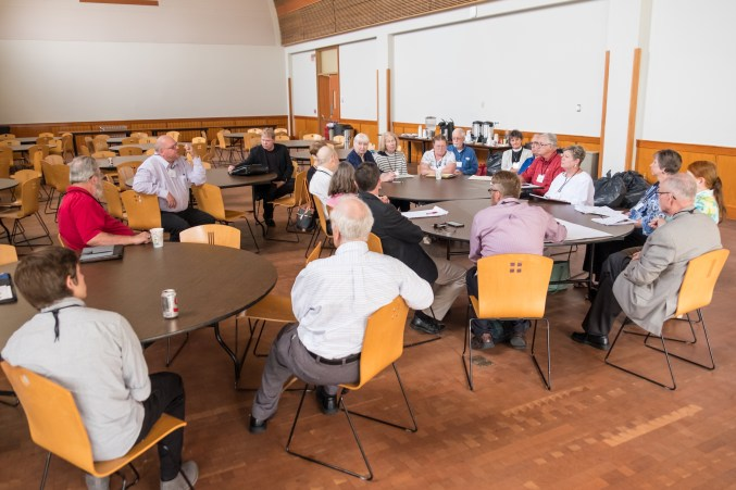 Special Convention of The Diocese of West Missouri, June 3, 2017 at Grace and Holy Trinity Cathedral. Image credit: Gary Allman