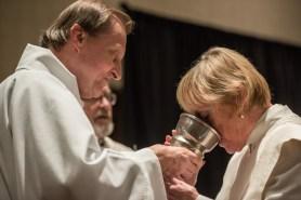 Deacon Larry Ehren Serving at the Convention Eucharist Image credit: Gary Zumwalt