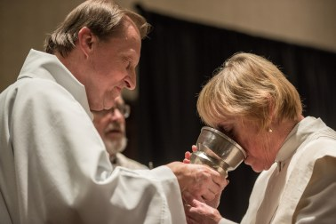 Deacon Larry Ehren Serving at the Convention Eucharist Image credit: Gary Zumwalt