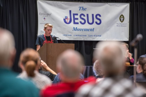 The Diocesan Youth Report to Convention Image credit: Gary Zumwalt