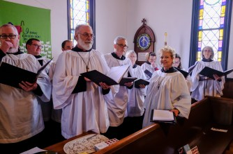 The St. Gregory Choir Image: Gary Allman