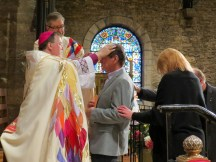 On Saturday April 7, 2018, Grace and Holy Trinity Cathedral, Kansas City, hosted diocesan Area Confirmations. Image: Donna Field