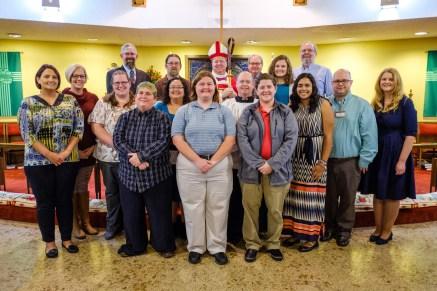 Thursday November 1, Area Confirmations at St. James Episcopal Church, Springfield. Image: Gary Allman