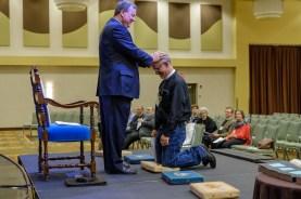 Ordination Rehearsal. Image: Gary Allman