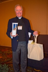 Welcome package for The Rev. George Cleaves. Image: Donna Field