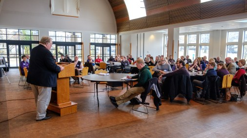 Canon Steve Opens The Day - Bishop's Day at Grace and Holy Trinity Cathedral. Image credit: Gary Allman