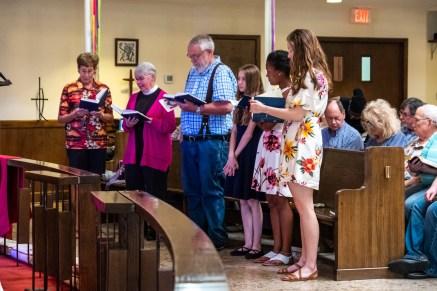 St. Alban's, Bolivar. Area Confirmations at St. James Episcopal Church, Springfield. Saturday May 18, 2019. Image credit: Gary Allman