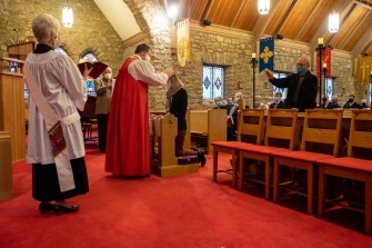 Area Confirmations at St. Peter & All Saints Episcopal Church. November 21, 2020. Image credit: Gary Allman